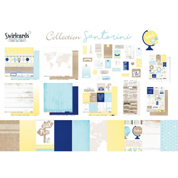 Pack: collection Santorini