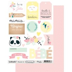 Labels sheet: A5 Tenderling Mila