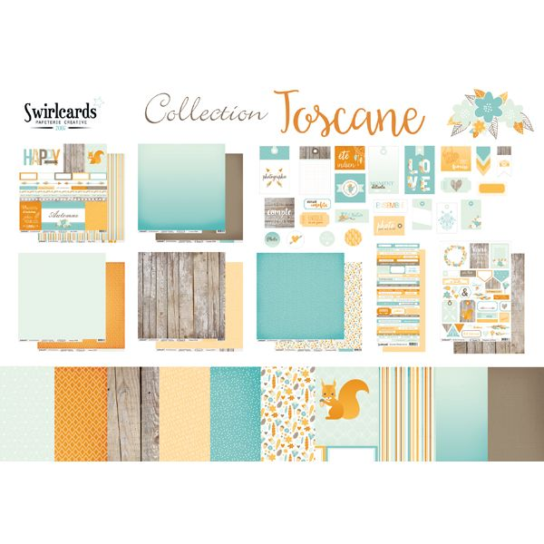 Pack: collection Toscane