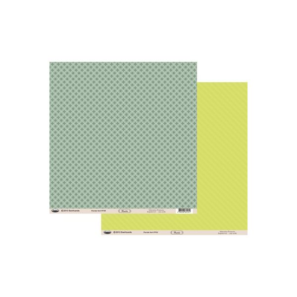 Papier Floride Vert