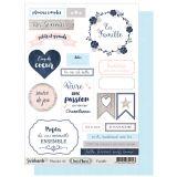 Labels sheet: Vent d'Ouest A5 Famille