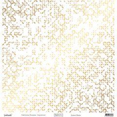 Reflet d'OR Aurore Dorée 12x12 Paper