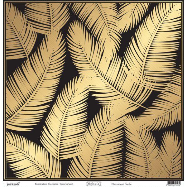 Reflet d'OR Flavescent Doré 12x12 Paper