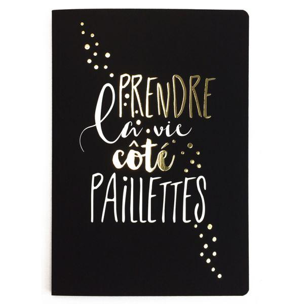 Carnet Paillettes