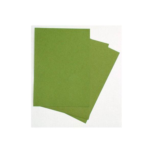 3 feuilles de kraft vert 325g