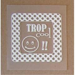 Etiquette Priplak Trop Cool