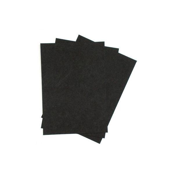 3 feuilles de kraft noir 325g